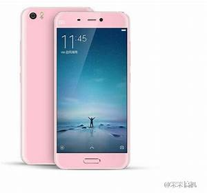 Xiaomi Mi5 Press Renders Confirm Multiple Colors  Black  Gold  Pink And White