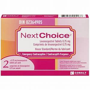 Buy Next Choice Emergency Contraceptive 2 x 0.75 mg Online ...