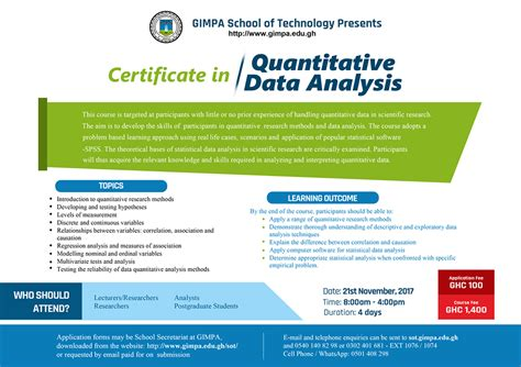 gimpa admission forms 2017 school of technology gimpa facebook
