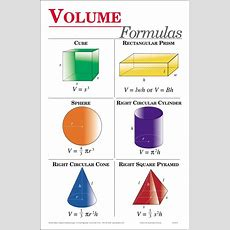 Formula For Volume  Free Large Images  Miss Lebreton's 3rd Grade  Pinterest  Geometry, Tes
