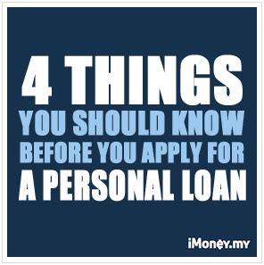 Before Applying For A 4 things you should before you apply for a personal loan