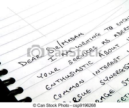 dear sir handwritten writing  letter  notepad dear sir