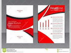 Vector Design Of The Red Flyer, Cover, Brochure, Poster