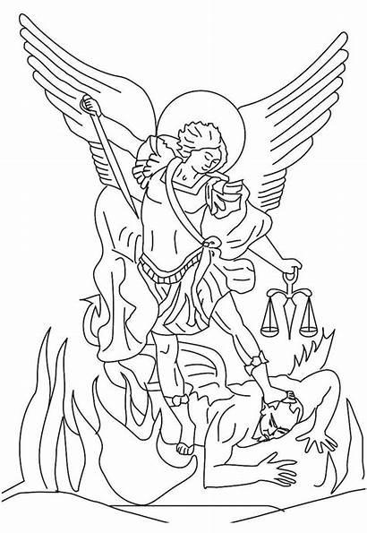 Archangel Michael Saint Clipart Angel St Drawing