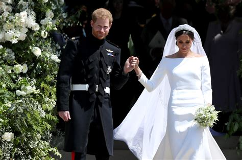 Markle Wedding Dress : Meghan Markle Just Gave A Stylish Nod To Her