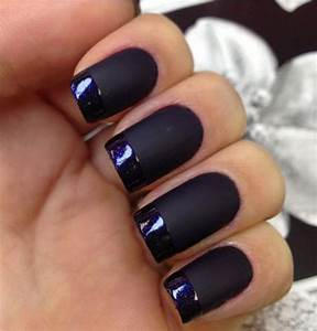 Black Matte Nails | www.pixshark.com - Images Galleries ...
