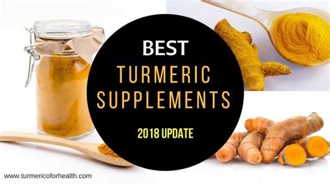best turmeric curcumin supplement brands 2018 update
