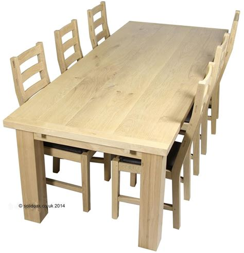 Made To Measure Solid Oak Farmhouse Dining Table From