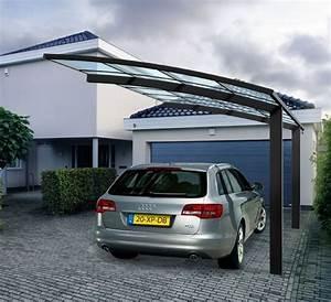 Carport Alu Glas : carport une solution conomique pour prot ger sa voiture habitatpresto ~ Whattoseeinmadrid.com Haus und Dekorationen