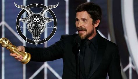 Actor Christian Bale Thanks Satan For His Golden Globe