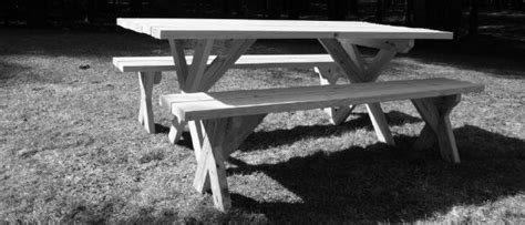 wood shop   yellawood picnic table plans