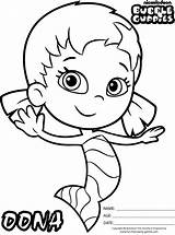 Guppies Bubble Coloring Pages Oona Nickelodeon Colouring Sheets Cute Guppy Birthday Google Outline Printable Bubbles Molly Characters Underwater Coloringpagesfortoddlers Mermaid sketch template