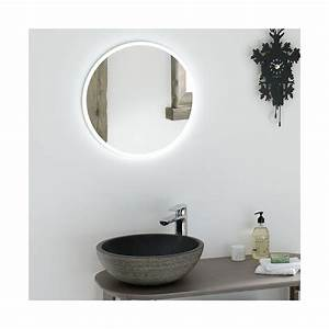 beautiful miroir salle de bain vintage gallery awesome With carrelage adhesif salle de bain avec grande lampe led