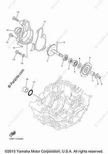 Yamaha Motorcycle 2015 Oem Parts Diagram For Water Pump