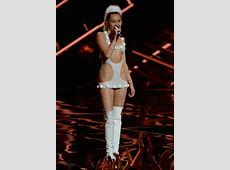 Miley Cyrus' VMAs costumes at the centre of copying row as