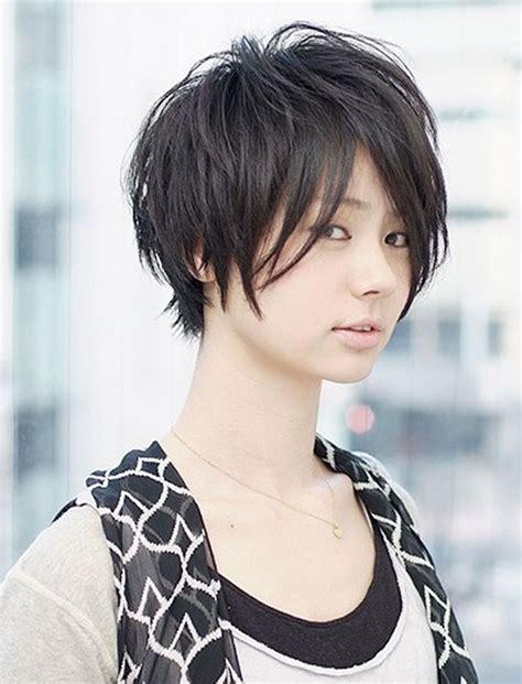 glorious short hairstyles  asian women  summer