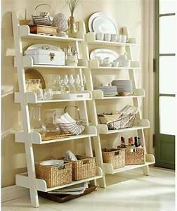 56 useful kitchen storage ideas digsdigs for Kitchen storage shelves ideas