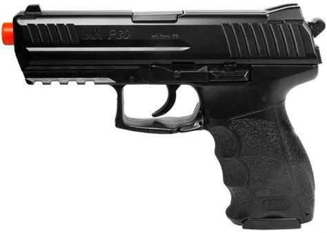 hk p spring airsoft pistol black airgun depot