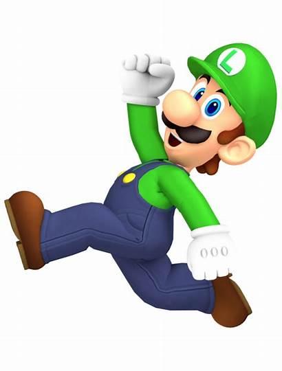 Luigi Jumping Render Mario Wikia Pixeles