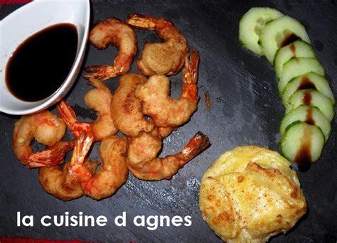 la cuisine d agnes beignets de crevettes à la sauce aigre douce la cuisine