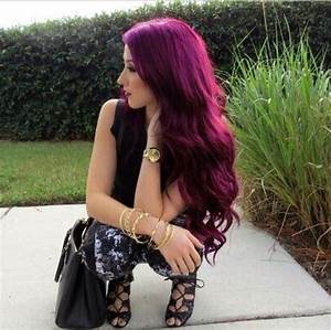 Red plum hair love it | Hair | Pinterest