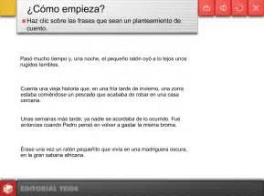 Las TIC en Primaria: PARTES DE UN RELATO (II): EL NUDO
