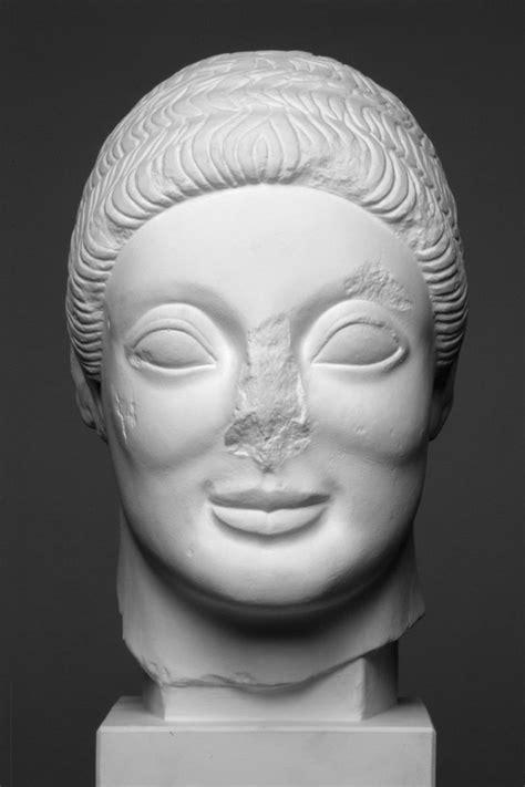 Virtuelles AntikenMuseum Goettingen - Kopf eines Kuros