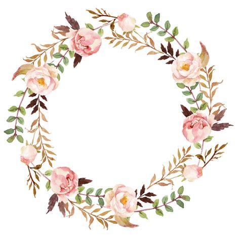 Spring Flower Wreath Clip Art Together With Free Vintage Easter   Bathroom Vanities, Chandeliers