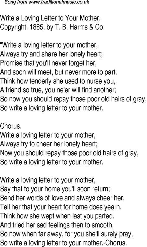 letter song lyrics   format cover letter