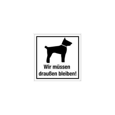 tuerkennzeichnung hunde muessen draussen bleiben