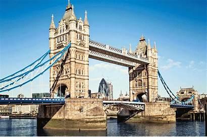 London Bridge Tower Paris Night Rome Animated