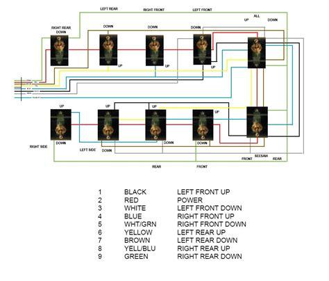 air ride switch box wiring diagram air bag suspension