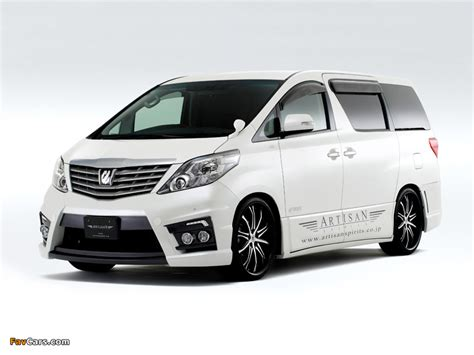 Toyota Alphard Wallpapers by Artisan Spirits Toyota Alphard Anh20w 2008 Wallpapers