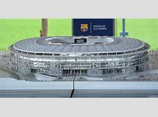Barcelona present plans for increased capacity at Camp Nou