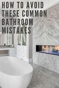 Avoid, These, 4, Common, Bathroom, Mistakes