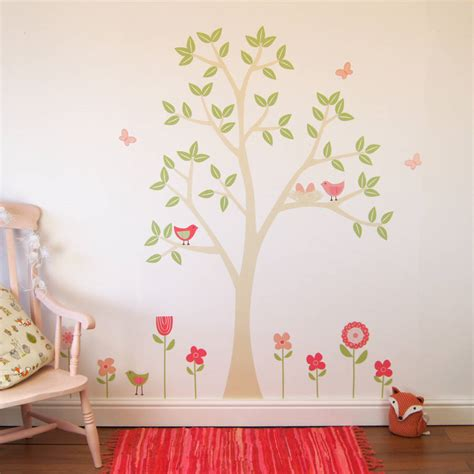 stikers chambre flower garden wall stickers by parkins interiors