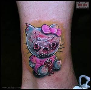 Design Zombie Zombie Hello Kitty Tattoos