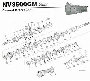 Getrag 290    Nv3500 Transmission Hard Parts  U0026 Rebuild Kits