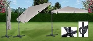 Parasol Inclinable Rectangulaire : parasol orientable ~ Teatrodelosmanantiales.com Idées de Décoration