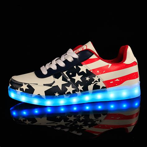 neon light up shoes basketball slippers promotion shop for promotional