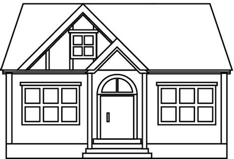dessin maison a imprimer coloriage une maison dory fr coloriages