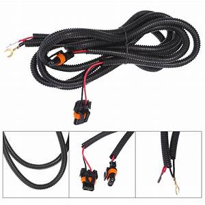 For Chevy Silverado Fog Light Wiring Harness Kit 03