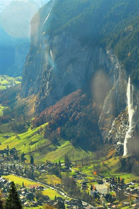 magnificent valley  switzerland wallpaper allwallpaper