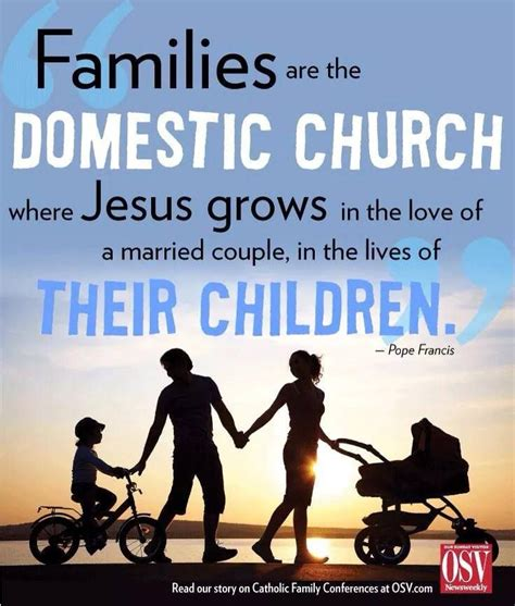 pope francis  family  domestic church pope