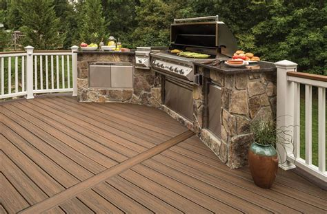 trex transcend grooved edge decking board us made