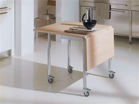 tavolo con ribalta tavolo a ribalta con ruote flash by bontempi casa