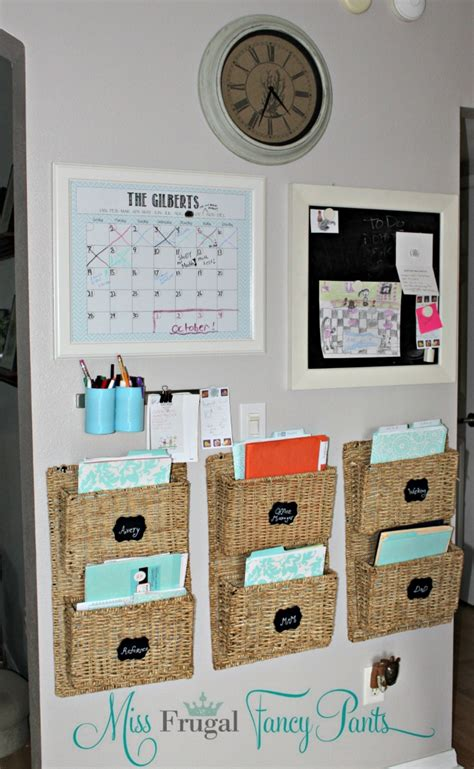 kitchen calendar organizer family command center miss frugal fancy 3307