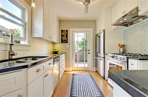 Designing A Galley Kitchen Can Be Fun  Philadelphia Small