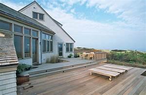 Cape Cod House - Rustic - Deck - boston - by Boehm
