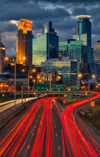 Downtown Minneapolis Minnesota Skyline